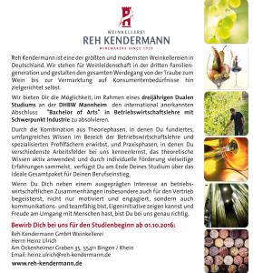 reh_kendermann_stellenanzeige_duales_studium