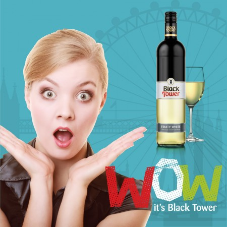 Black Tower, the UK's No.1 wine brand from Germany, launches a WOW campaign